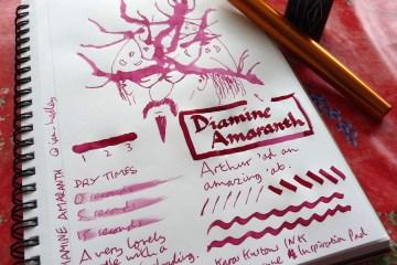 Diamine Amaranth ink review