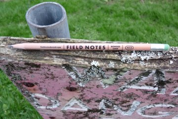 Field Notes No2 pencil branding