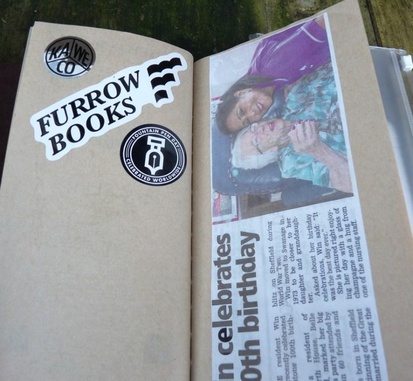 Midori Travelers Notebook Refill 014 Kraft