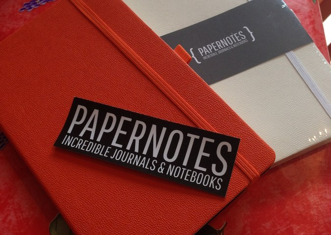 Papernotes with packaging