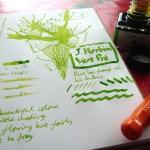 J Herbin Vert Pre ink review