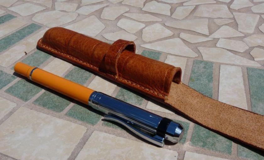 Barrington Pen Sleeve empty with pen