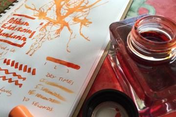 Pelikan Edelstein Mandarin ink review