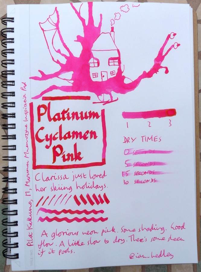 Platinum Mix-Free Cyclamen Pink Inkling