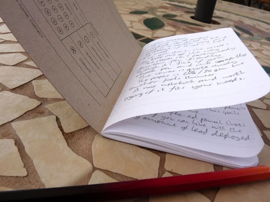 Word Notebook review
