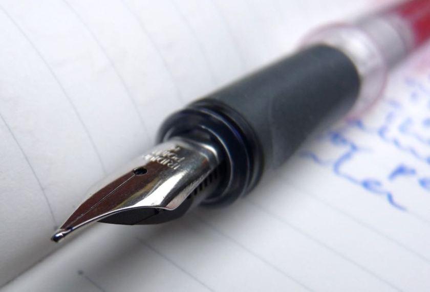 Dex Compact Clear Fountain Pen nib