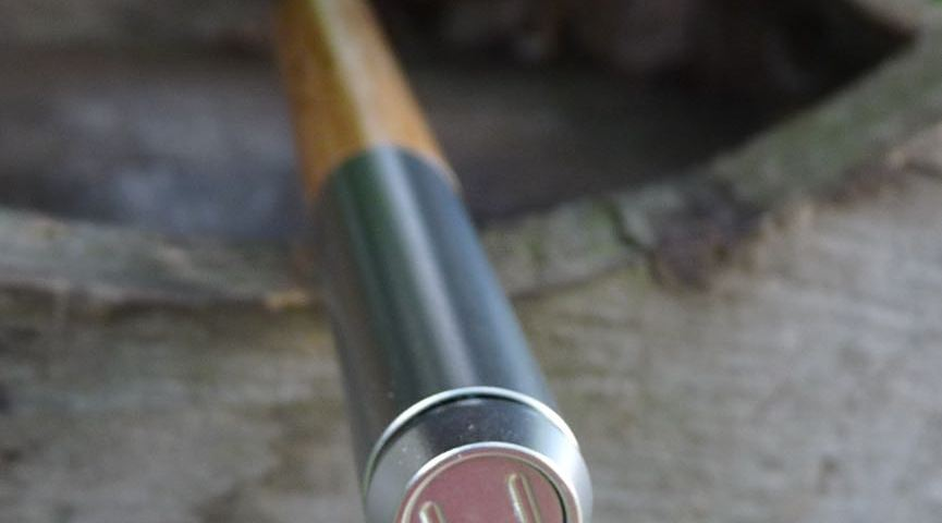 Eco-Essential Pencil end cap with logo