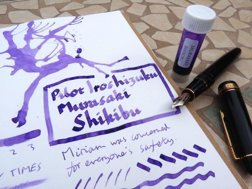 Pilot Iroshizuku Murasaki Shikibu ink review