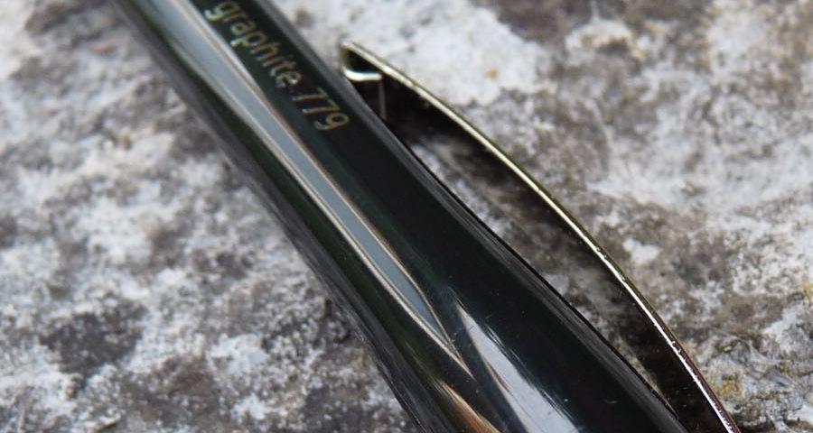 Staedtler Graphite 779 clip and branding