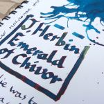 J Herbin Emerald of Chivor a hundred different colours