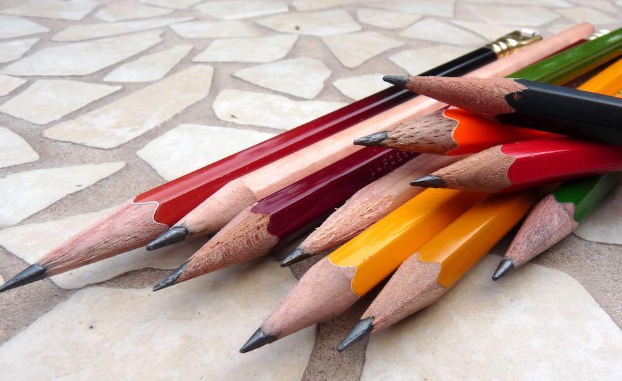 Week of pencils