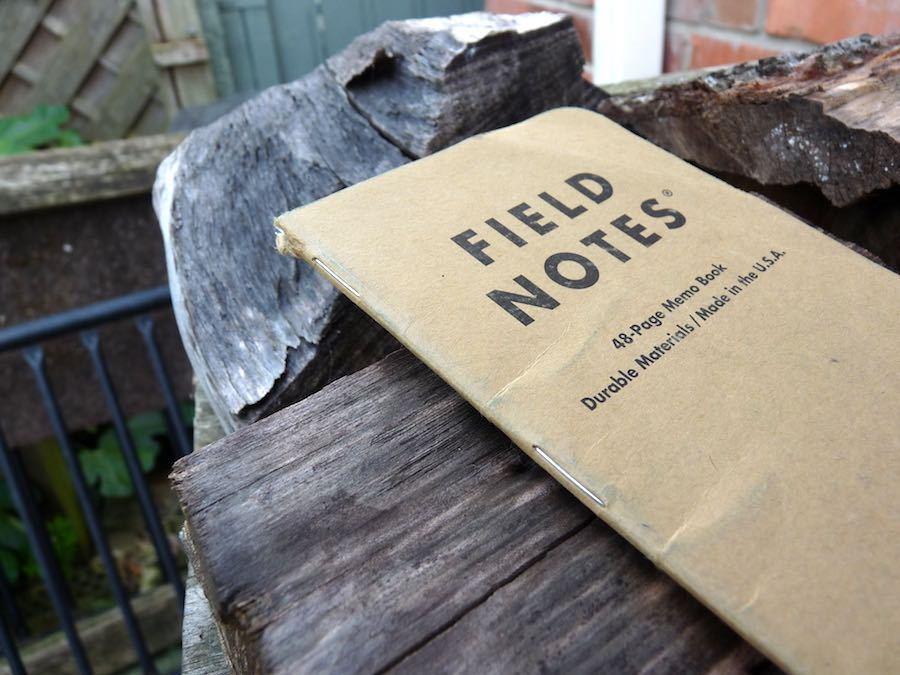 Field Notes Kraft cover