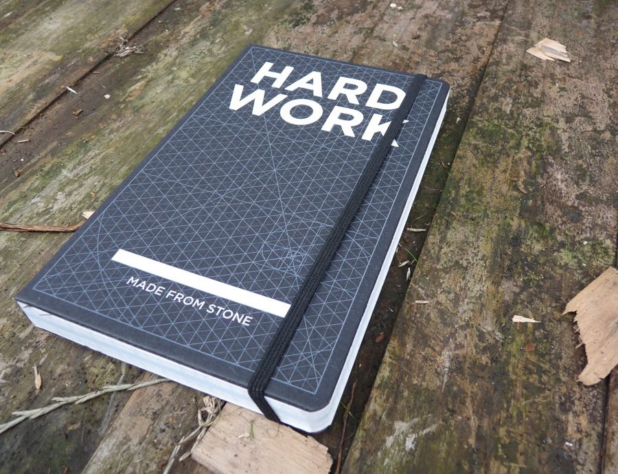 Hard Work notebook cover