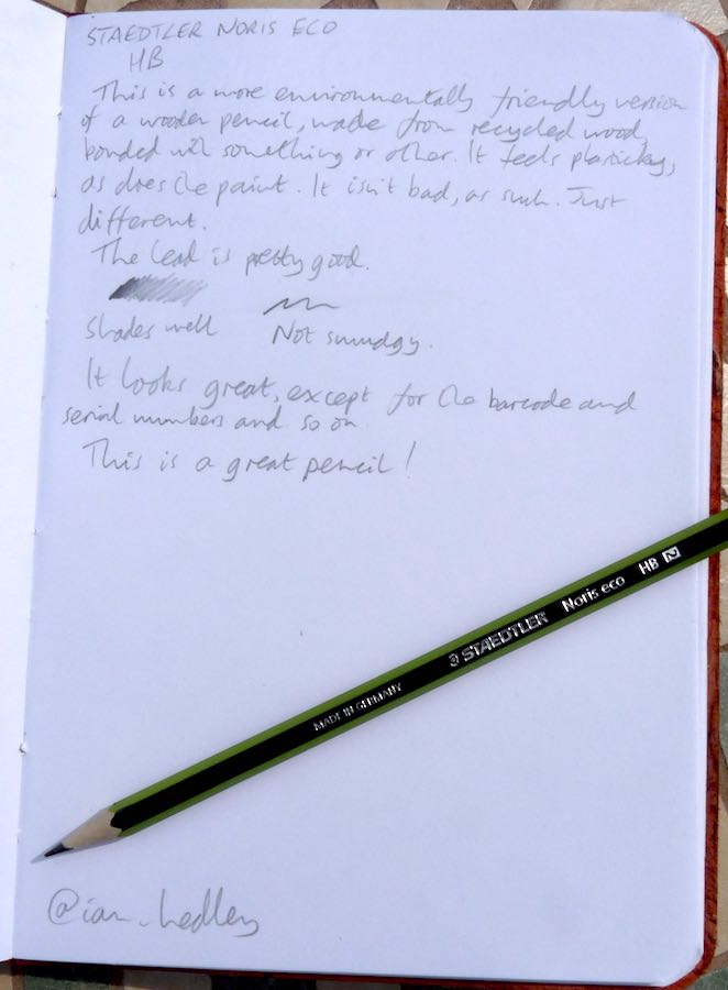 Staedtler Wopex handwritten review