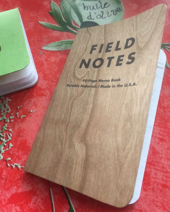 field notes cherry graph notebook mini