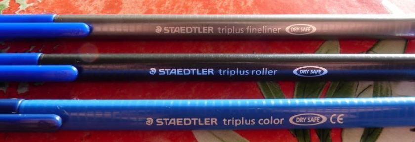 Staedtler Triplus side by side
