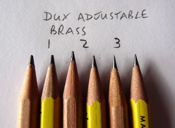 DUX Adjustable Brass points