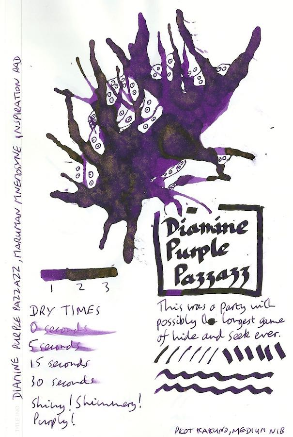 Diamine Purple Pazzazz