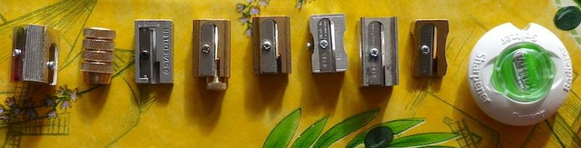 Guide to small pencil sharpeners