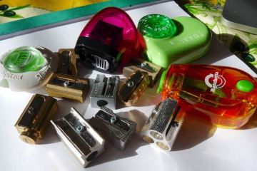 Jumble of sharpeners