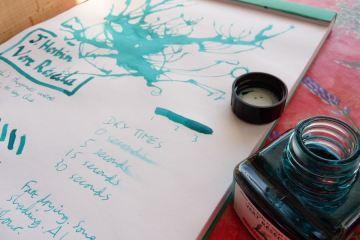 J Herbin Vert Reseda ink review