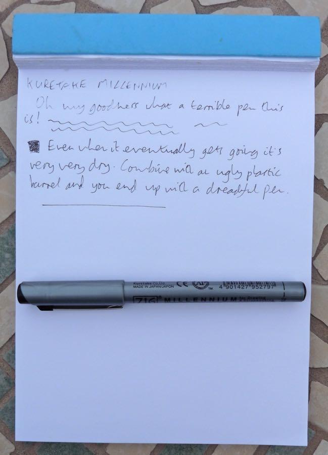 Kuretake Millennium handwrritten review