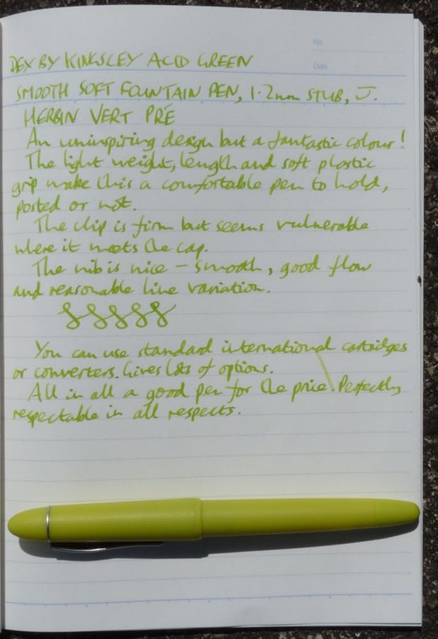 Dex Soft Smooth handwritten review