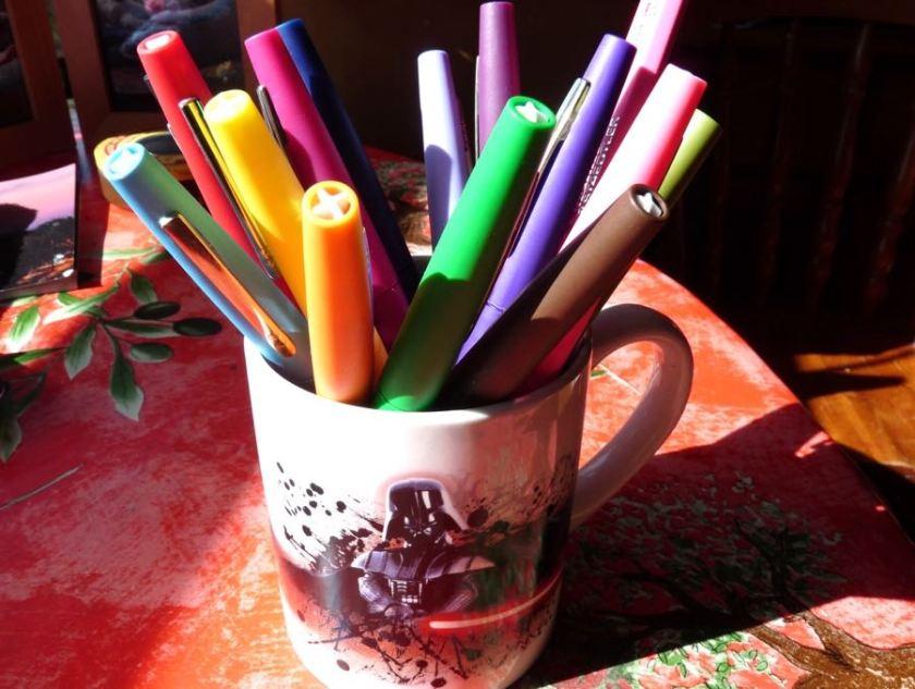 Paper Mate Flair in a mug