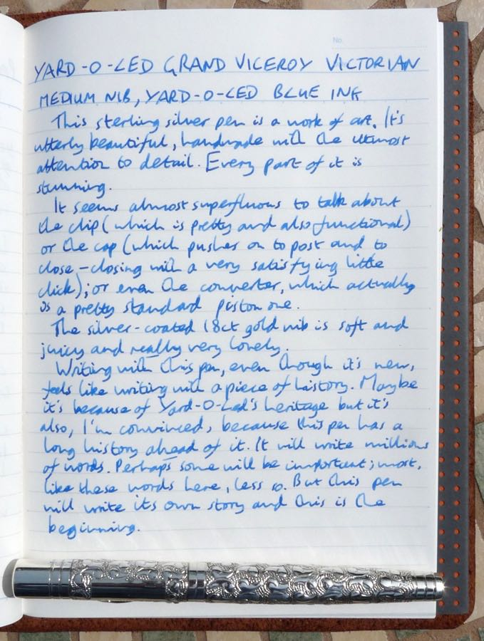 Yard-O-Led Grand Viceroy Victorian handwritten review