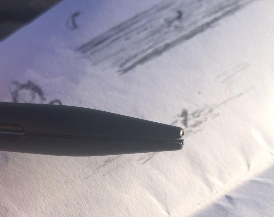 Penxo Pencil lead retracted