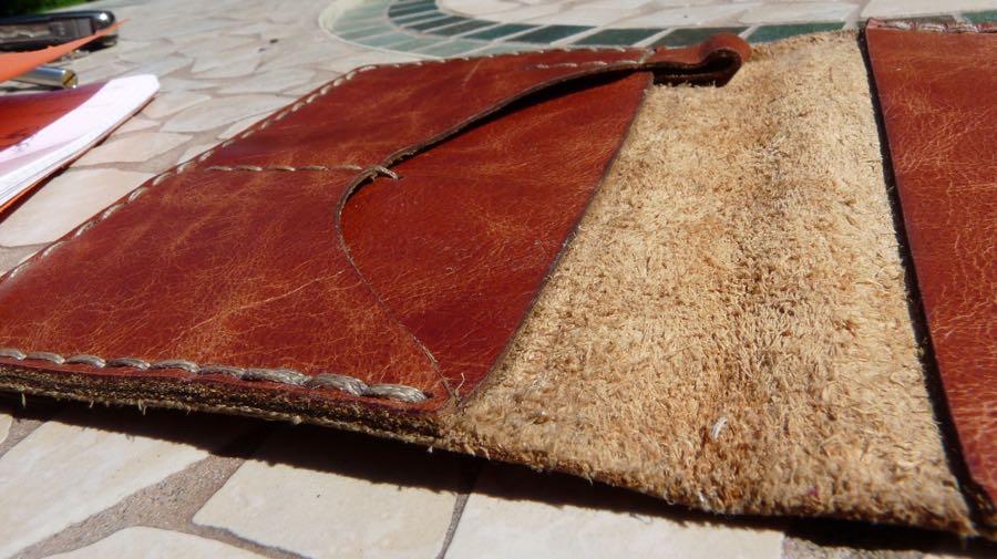 Galen wallet notebook insides empty