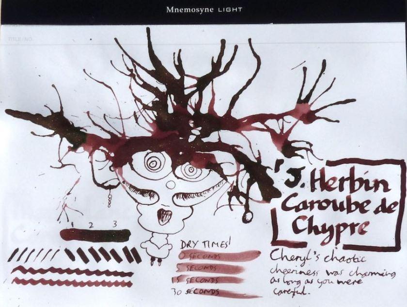 J Herbin Caroube de Chypre Inkling