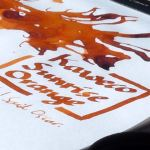 Kaweco Sunrise Orange Ink Review