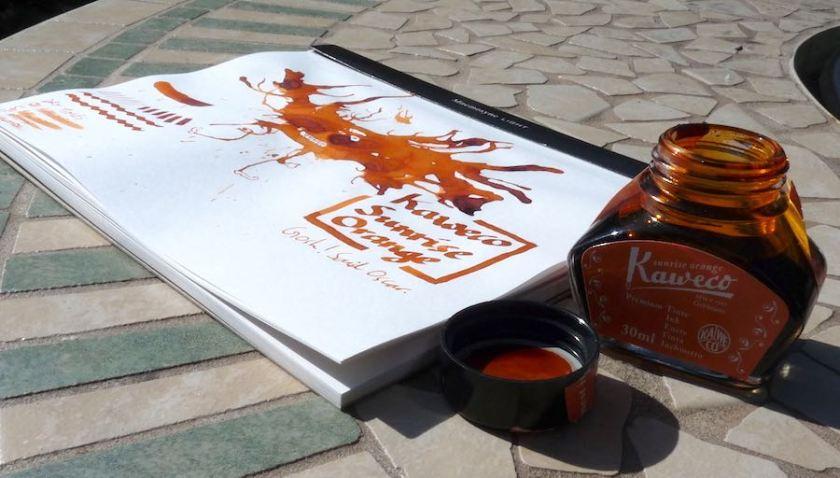 Kaweco Sunrise Orange review