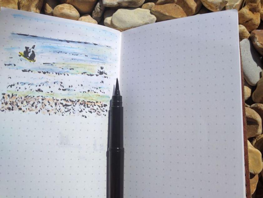 Back Pocket Notebook quick sketch