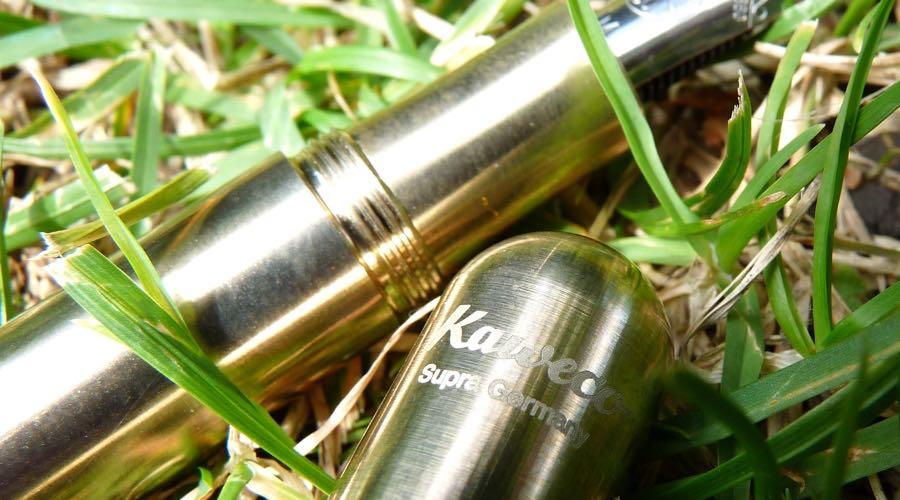 Kaweco Supra branding on cap