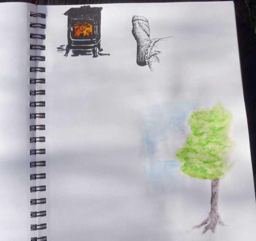 Denik Sketchbook colour