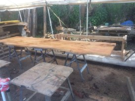 Sandy table in progress
