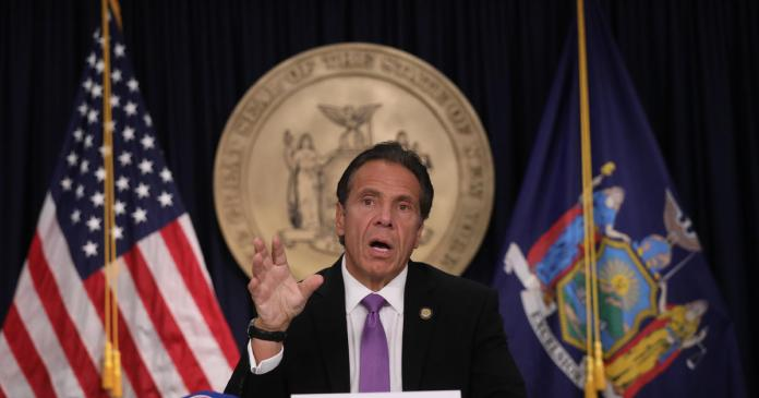 Andrew Cuomo to receive International Emmy for daily COVID-19 briefings