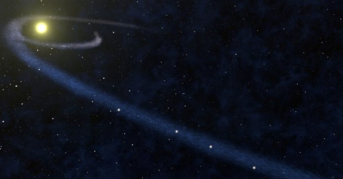 Twinkling Black Holes Reveal an Invisible Cloud in Our Galaxy