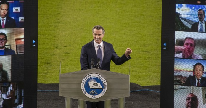 Facing recall, Newsom discusses 'unthinkable' pandemic challenges and offers hope for future