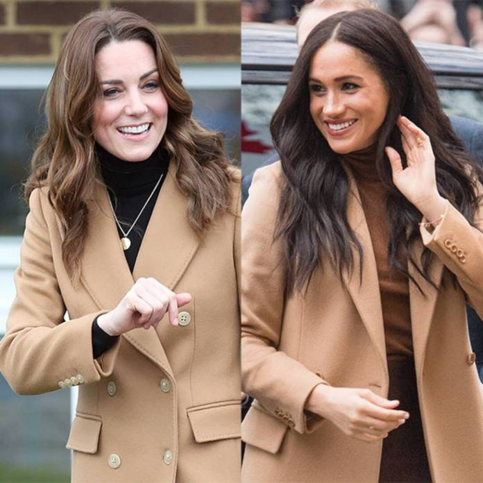 Kate Middleton Makes First Appearance Amid Meghan Markle Claims