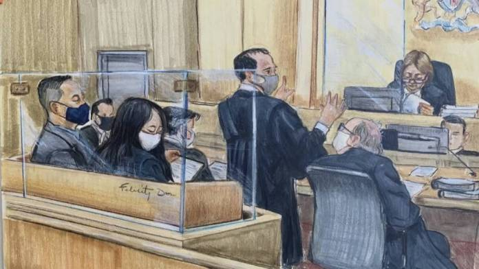 Click to play video: 'Lawyers for Huawei executive cast doubts on who knew what, when'