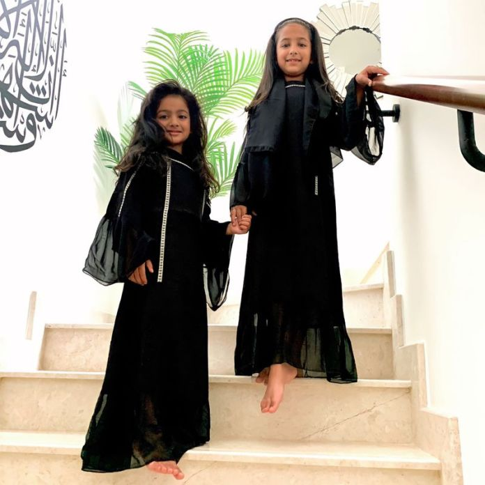 Zainab's daughters enjoy the special family time they get at Ramadan