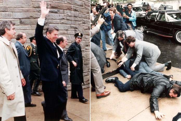 """Ronald Reagan was just 10 weeks into his presidency when a gunman put a bullet in his body. As doctors later tried to save his life, he told his wife, """"I forgot to duck."""""""