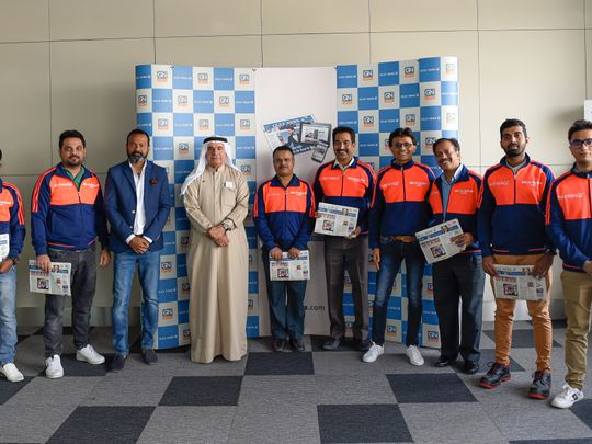 Gulf News readers and winners