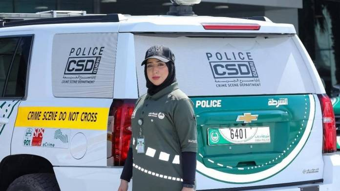 Meet first woman to lead Dubai Police's crime scene investigations - News