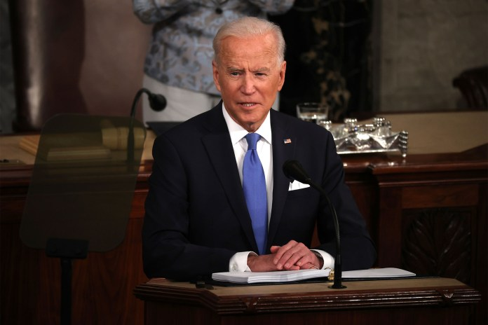 Joe Biden's spending proposal includes higher taxes on the nation's top earners.