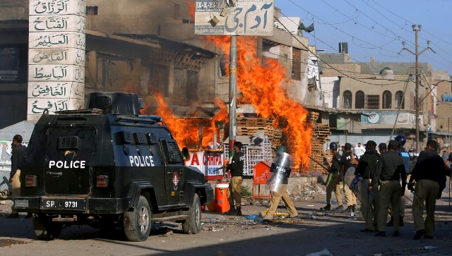 Pakistan antiFrance protests TLPs emergence is a result of Imran Khan govts inexcusable policies