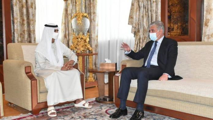 Pakistan minister Qureshi meets UAE's Sheikh Nahyan in Abu Dhabi - News